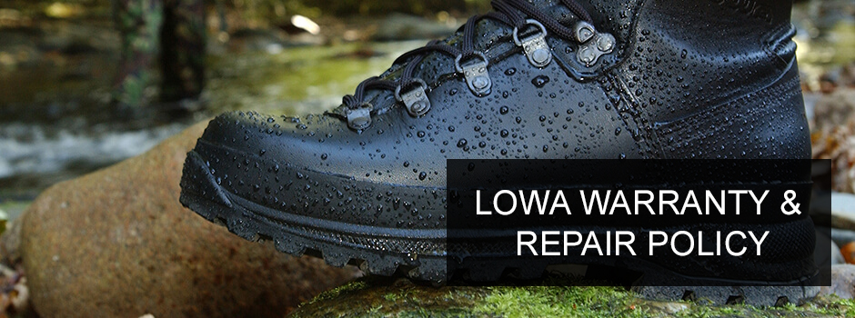 LOWA Warranty & Repair Policy